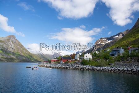gryllefjord senja norwegen