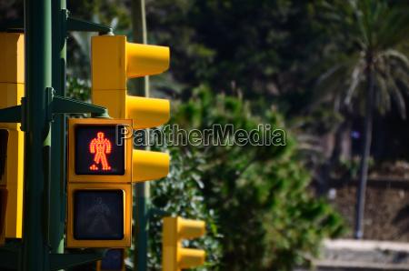 gelbe ampel auf rot