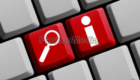 online suchen nach informationen