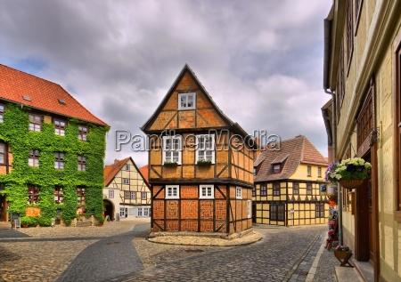 quedlinburg altstadt qedlinburg old town