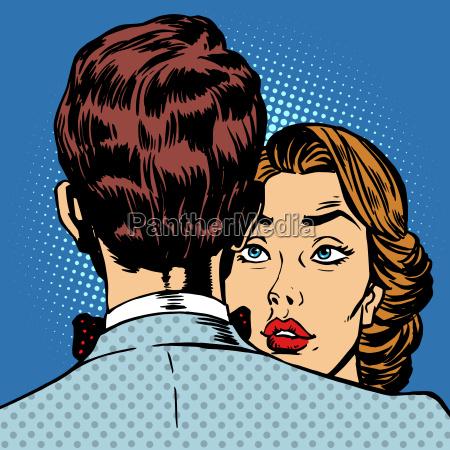 paar mann und frau liebe romantik