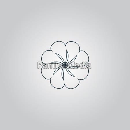 swirl symbol vektor