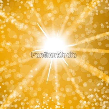 summer sun burst background heisse sonne