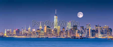 new york city manhattan skyline der