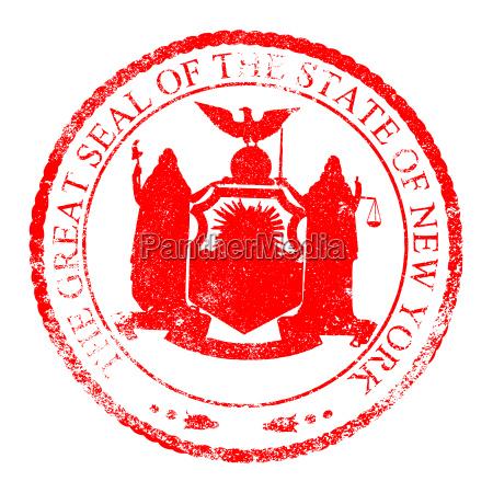 new york seal stamp