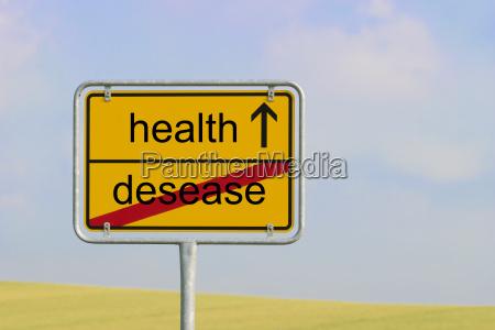 zeichen gesundheit