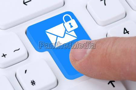 verschluesselte e mail email nachricht message