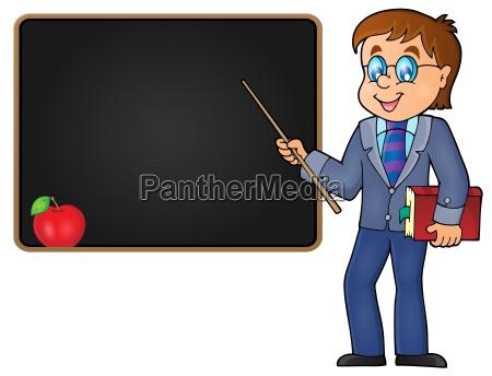man teacher theme image 2
