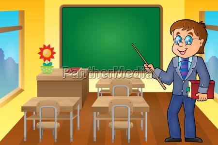 man teacher theme image 6