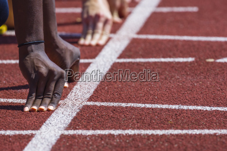 leichtathletik sprint