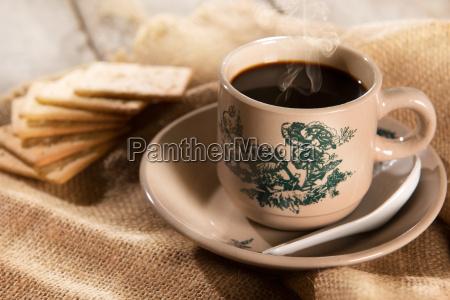 traditionelle malaysian chinese kaffee und soda