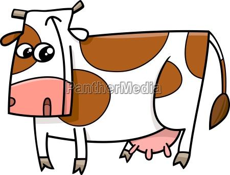 cow farm animal cartoon