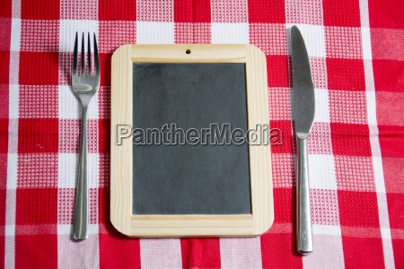 table with cutlery