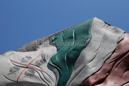 fahne flagge von sardinien und italien
