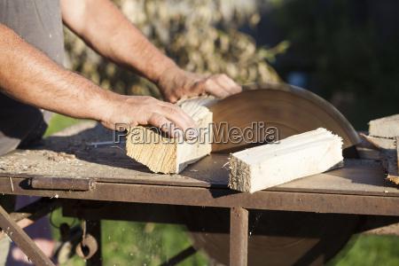 lumberman arbeiten kreissaege