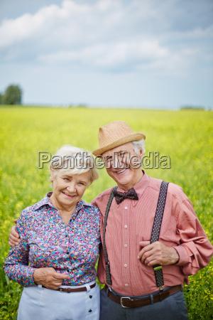 happy pensioners