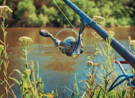 sport fischfang angel ausruestung angelrute geraetschaft