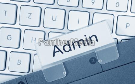 admin verwaltung ordner