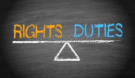 rights and duties balance concept