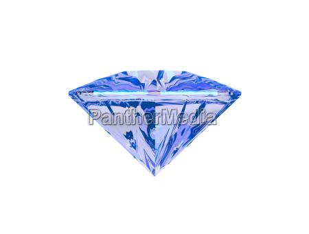 blau objekt gegenstand freisteller symbolisch stein