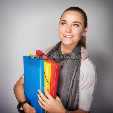 student girl portrait