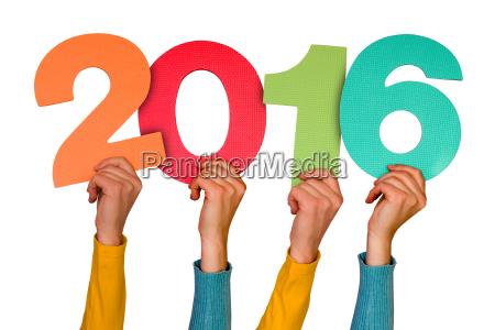 haende mit farbzahlen zeigt 2016