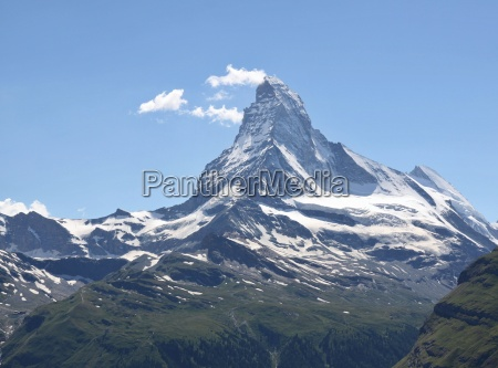 schoener berg matterhorn schweizer alpen