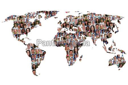 world earth world map men people