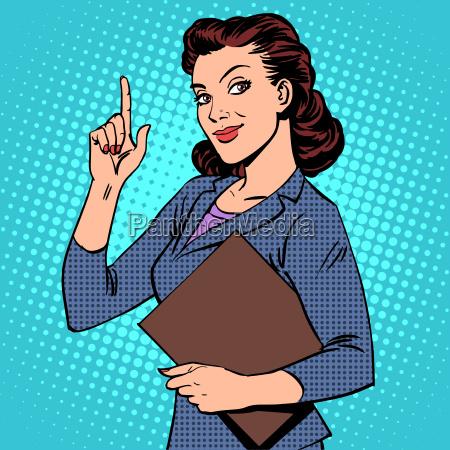 erfolgreiche weibliche geschaeftsfrau