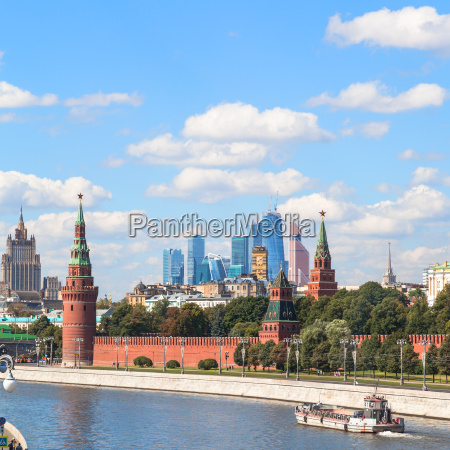 kremlin moscow city district and moskva