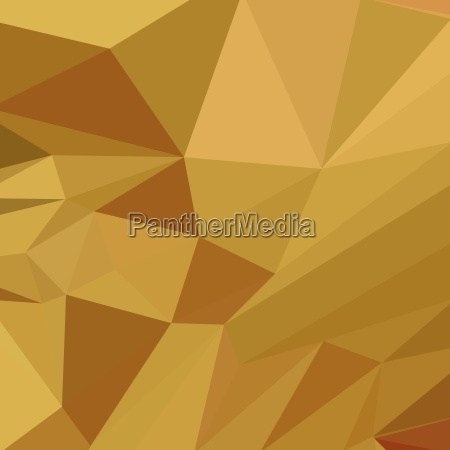 goldenrod yellow abstract low polygon background