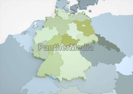 deutschland und angrenzende laender 57