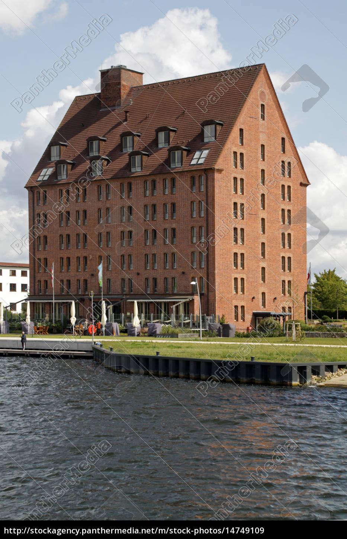 Hotel Speicher Am Ziegelsee Lizenzfreies Bild 14749109