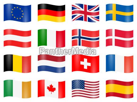 banderas de pais giro