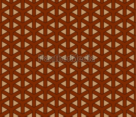 geometrische chinesische nahtlose muster