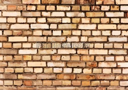 backsteinmauer detail textur