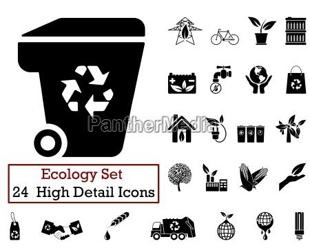 24 oekologie ikonen