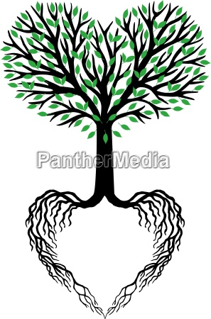 tree of life heart tree