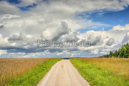 path in landscape franconia