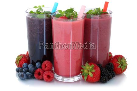 smoothie juice with fruit juice cut