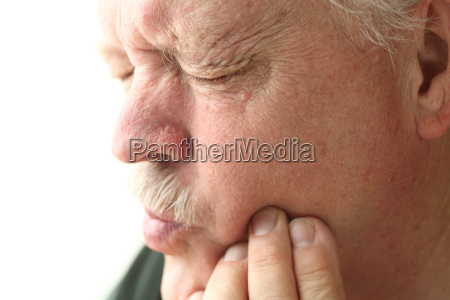 toothache in older man