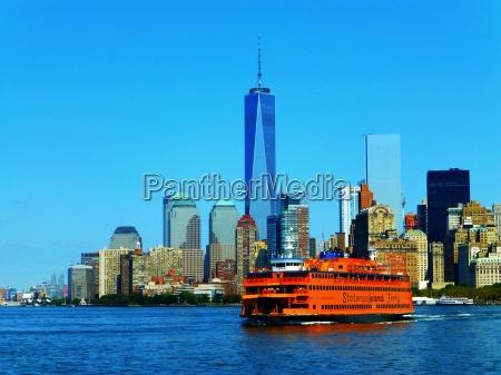 staten island ferry manhattan new york