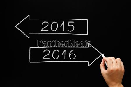 geht voran zu jahr 2016