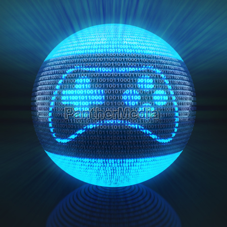 gaming icon on globe formed by