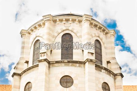 herrliche luecke kathedrale in frankreich