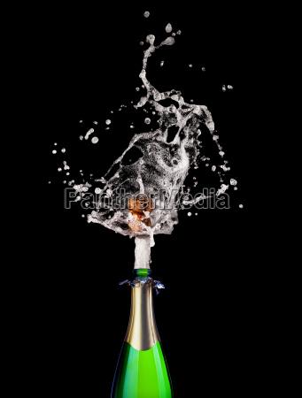 knallender champagner
