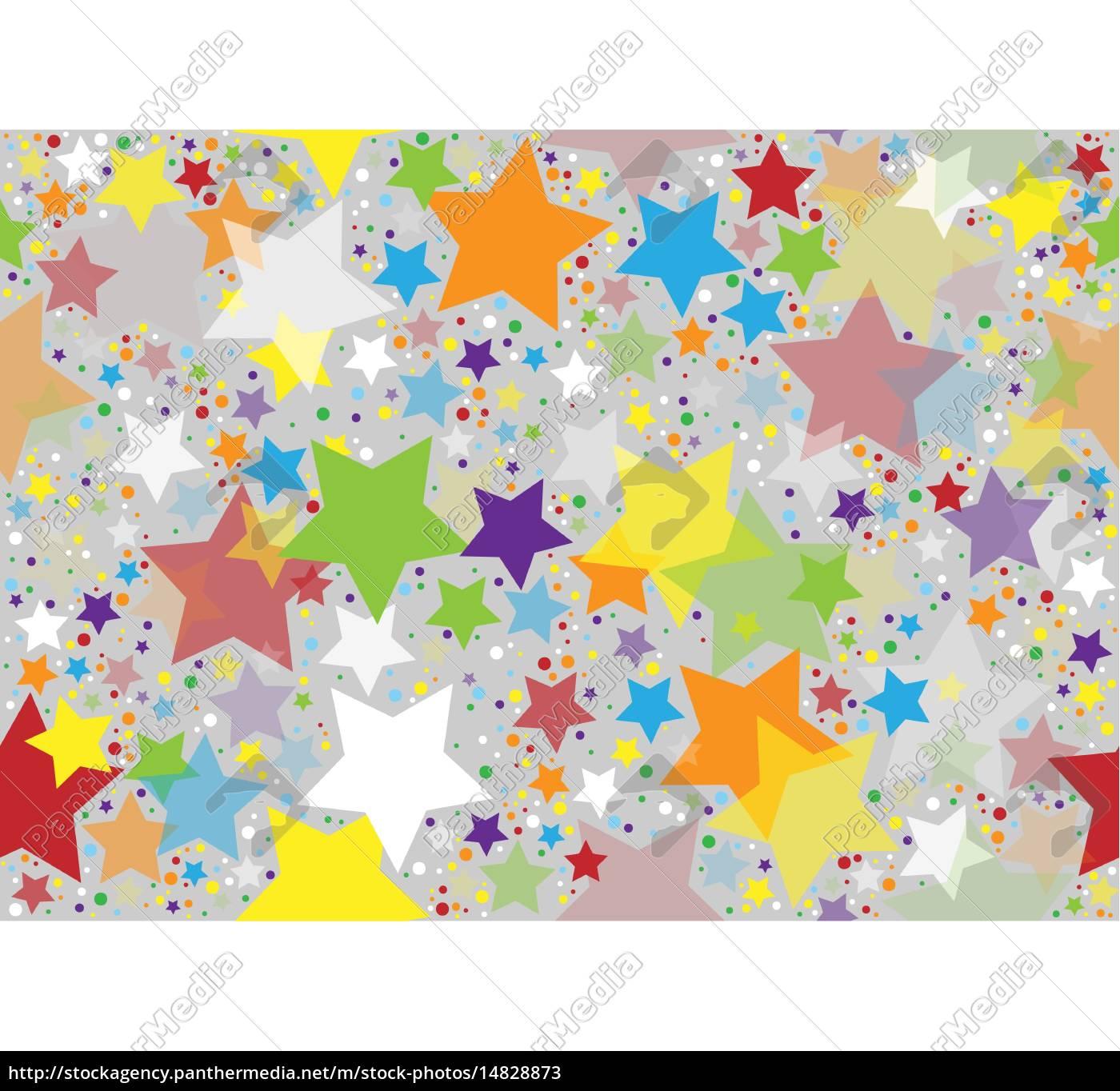 farbige, sterne, textur - 14828873