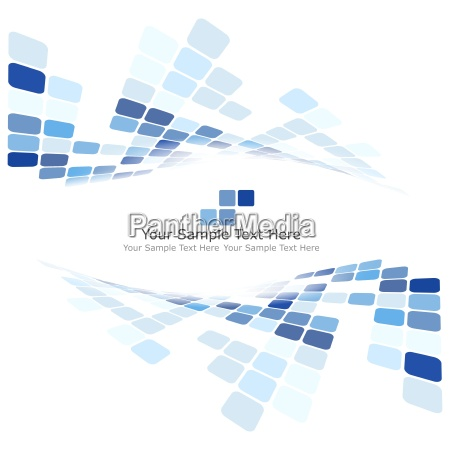 abstract kariert blau muster vektor raster
