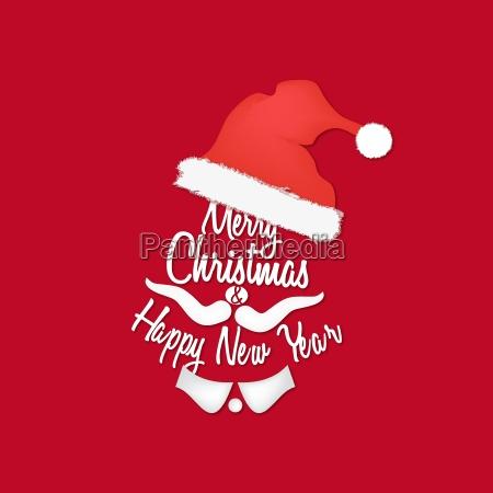 red christmas hintergrund von santa claus