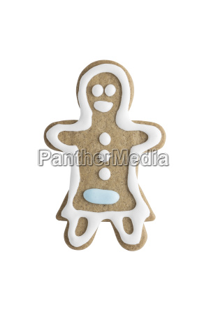 woman shaped gingerbread cookie